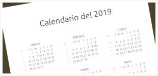 Calendario 2019 Y 2020 Con Festivos Para Colombia.Calendarios Horas Y Fechas Cuando En El Mundo